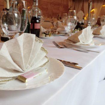 Vestuvių dekoravimas | Stalo dekoras
