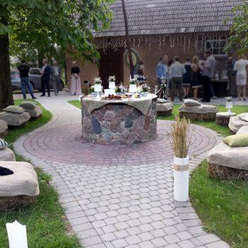 Krikštynų dekoravimas | Lauko puošyba